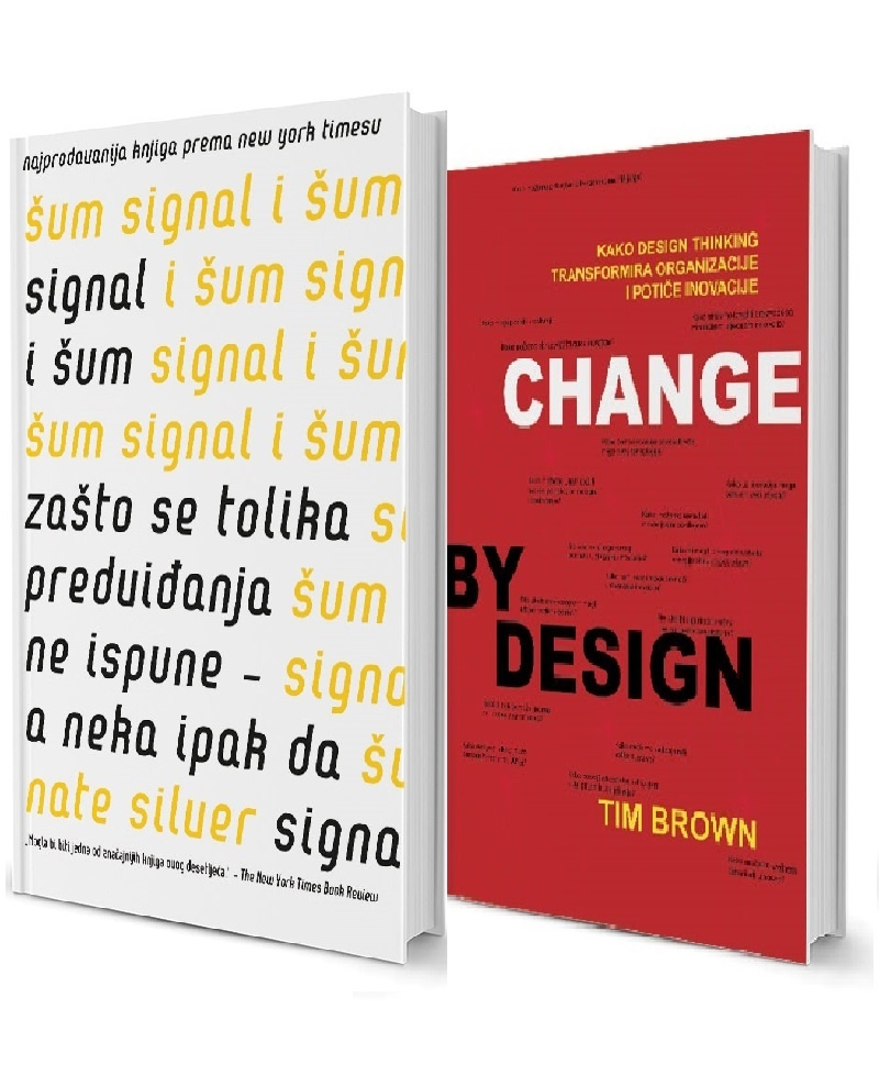 Komplet: Signal i šum & Change by design